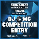 ROUGH TEMPO PRAGUE DNB WEEKENDER COMPETITION ENTRY DJ DINO