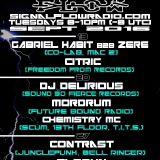 Signal Flow Radio Sept 20th 2016 DJ DELIRIOUS & MORDRUM w CHEMISTRY MC