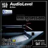 Analog Sessions [02] Craig Dalzell Live On Vinyl @ AudioLevel (09.03.2019)