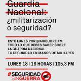 SEGURIDAD NACIONAL @Aire Libre 18/02/19