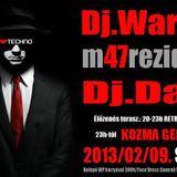 Dave & Warped - Live @ Club Pegazus, Tiszatelek (2013.02.09.)