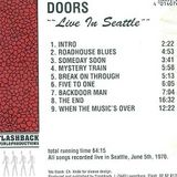 The Doors - 1970-06-05  Seattle Center, Seattle, USA