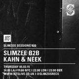Slimzos Sessions: Slimzee, Kahn & Neek - 5th March 2015