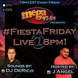 Fiesta Friday MEGA Mix Live on 97.5FM 011918