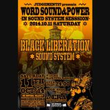 BLACK LIBERATION SOUND SYSTEM at ERA SHIMOKITAZAWA 2014.10.11