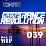 Adik Spart - Trance Revolution #039