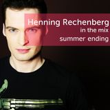Henning Rechenberg in the mix - summer ending