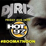 DJ Riz on Hot 97 (28.08.15)