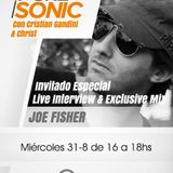 Joe Fisher @ Sonic FM (Julio 2013)