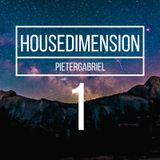 Your listening to DJ PieterGabriels HouseDimension podcast nr 1, Let's Dance!
