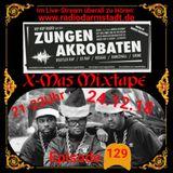 Zungenakrobaten Episode 129 - X-Mas Mixtape vom 24.12.2018