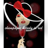 Champagne & Lady In Red