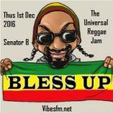 Thurs 1st Dec 2016 Senator B on The Universal Reggae Jam_Vibesfm.net