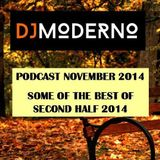 DJ MODERNO NOVEMBER 2014: Some of the best second half 2014