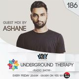 Underground Therapy Radio show - with Jayy Vibes guest mix Ashane