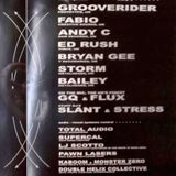 """Grooverider w/ MC Flux """"Live at DC Armory"""" November 27, 1999"""