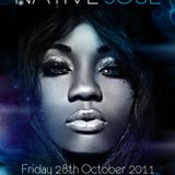 Native Soul (Fri 28th Oct 2011)- Promo CD mixed by FUNK MOB