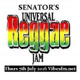 Thurs 7th July 2016 Senator B on The Universal Reggae Jam Vibesfm.net