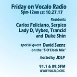 Duke Shin | Vocalo Friday Night Mix Series - October 2017 | 91.1& 89.5 FM Chicago, vocalo.org