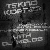 Tekno Korner - DJ Melos (40 min sample)