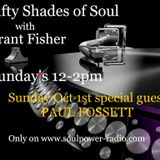 50 Shades of Soul with Paul Fossett 011017 on www.soulpower-radio.com