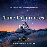Dirk - Host Mix - Time Differences 250 (19th February 2017) on TM-Radio