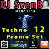DJ SvenB - Techno Promo Set 12 (2014)