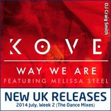 2014-07-13 July Week 2 New UK Chart Releases (The Dance Mixes)