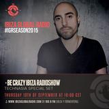 Technasia live @ Be Crazy RadioShow - Ibiza Global Radio - Sept 15