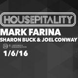 Mark Farina @ Housepitality, San Francisco- 'Sharon Buck's B-day Bash'- January 6, 2016