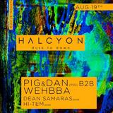 Pig & Dan b2b Wehbba - Live @ Halcyon Club (San Francisco, USA) - 19.08.2017