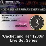 3 Degrees featuring Cachet @ Primary Chicago, IL 03.05.2014