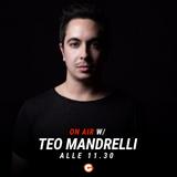 Andrea intervista Teo Mandrelli - #Happydays 11 ottobre 2018