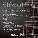 Neil Landstrumm (Live PA) @ Circuitry 9 - Secret Location Los Angeles - 12.03.2016