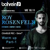 Charlie Pec & Dam Betz (B2B) Warm up Roy Rosenfeld 10-11-17 - Part 1