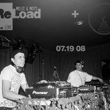 """DJ Melee & MO7S """"Live @ Reload"""" (4decks) 7.008"""
