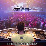 DJ THE GREEK @ HOUSE SESSION #087