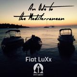 An Ode To The Mediterranean _ INTIMAT AUGUST 2016 by Fiat LuXx