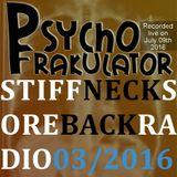 Stiff Neck, Sore Back Radio 2016/03