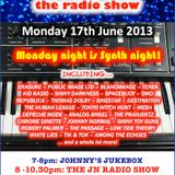 THE JOHNNY NORMAL RADIO SHOW 12, 17TH JUNE 2013