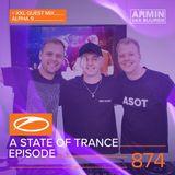 Armin van Buuren presents - A State Of Trance Episode 874 XXL Guest Mix: Alpha 9 (#ASOT874)