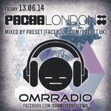 OMR Pacha London Promo Mix