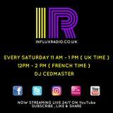 DJCEDMASTER LIVE@INFLUX RADIO 28.10.2017