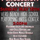 Percussion Concert @ Vero Beach High School Performing Arts Center (Vero Beach, FL) 5/15/2016