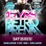 dj Vinn @ Riva - 15 years Retro Arena 25-02-2012