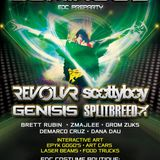 Stepping Outside the Circle 3 - Luminous EPYK EDC Preparty 2014 - Grom Zuks