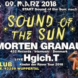DJ Phoenix - DJ Set - Sound of the Sun @ Butan - Wuppertal 09.03.2018