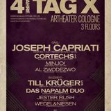 CORTECHS Live @ 4 Jahre Tag X - artheater Cologne - 06.10.2012