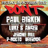 Luke's Anger (Live PA) @ Don't - Bar 512 London - 26.10.2012
