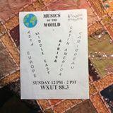 Vintage  Arabic / Vintage African - Musics of the World 11/06/16 WXUT
